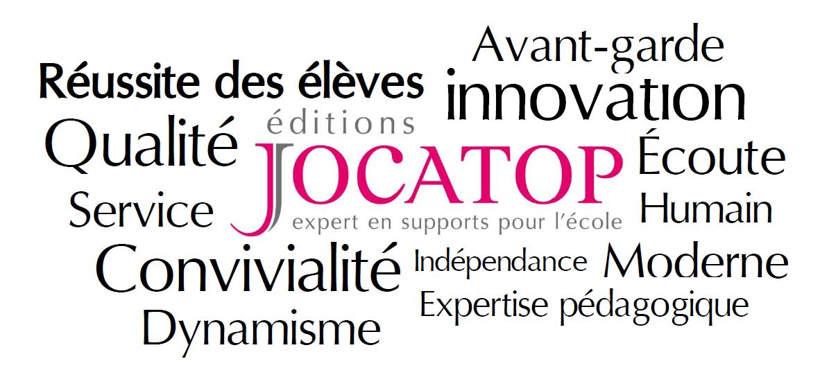 Les valeurs de Jocatop